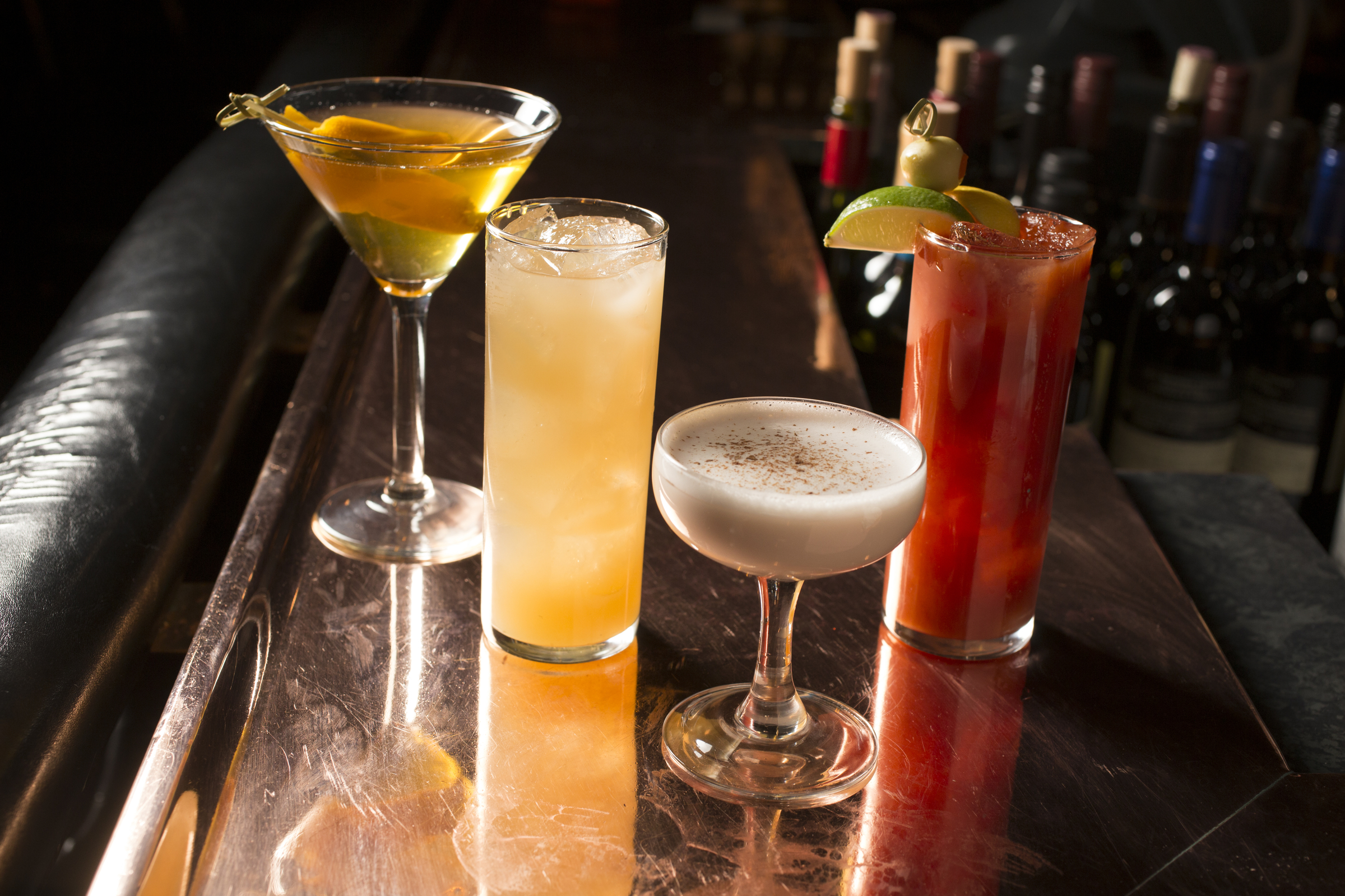 The Top Steakhouse cocktails