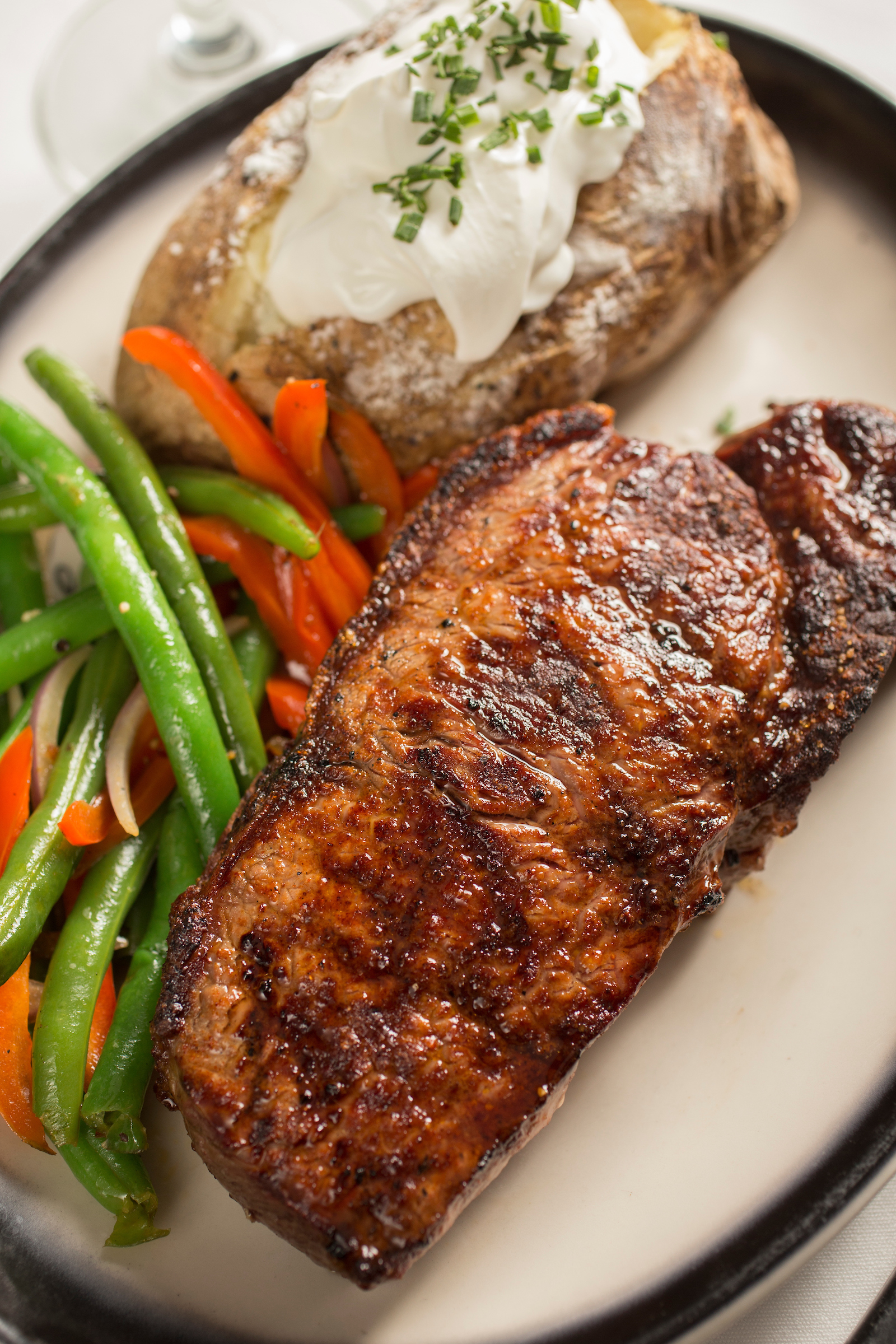 The Top Steakhouse steak